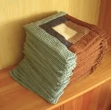 knitted log cabin afghan - Google Search