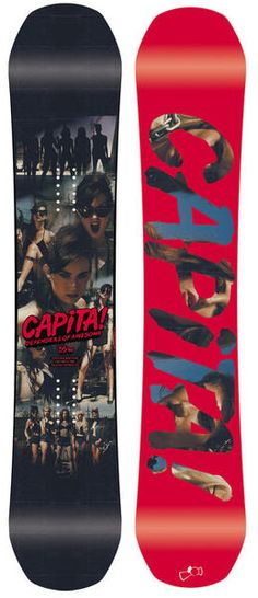 Capita DOA Defenders of Awesome Snowboard WIDE 155cm 2016 As a high end freestyle board the DOA packs a punch to keep up with the heavyweights of the game all held in check with 2 tip to tail carbon stringers. This board is fast, twin, poppy and fun to ride! #snowboard #snowboarding #capitadoadefendersofawesomesnowboardwide155cm2016 #allmountain