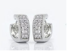 delatcha 60 off Heart Earings Women 925 Sterling Silver Crystal Earrings Stud Earring Simulated Diamond Jewelry Love Gift Ulove SYC97 >>> To view further for this item, visit the image link. Note:It is Affiliate Link to Amazon.
