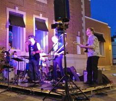 Iain Leslie Band at Thomas Stage - Oakville's Home Grown Boy - Oakville Jazz Festival 2013 Festival Photography, Jazz Festival, Original Music, Highlights, Stage, Band, Sash, Luminizer, Hair Highlights