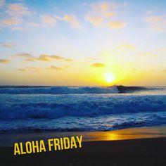Happy ALOHA Friday 🤙