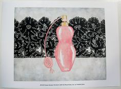 $15.50 Perfume Art Print, by Chariklia Zarris, Femme Boudoir VIII