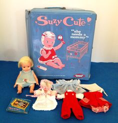 1965 Suzy Cute Doll with Original Case