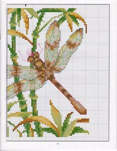 DRAGONFLY HAPPINESS CROSS A1