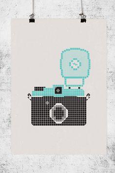 Poster Camera / Lomography / Diana F+
