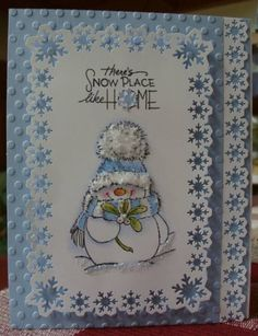 Snow Place Like Home by Susie B - Cards and Paper Crafts at Splitcoaststampers