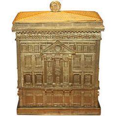 Rare Cartier Figural Jewelry Box