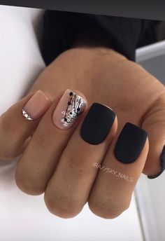 and Hottest Matte Nail Art Designs Ideas 2019 – Nails Summer – Fall – Spring – Winter Gorgeous Nails, Love Nails, My Nails, Square Acrylic Nails, Square Nails, Stylish Nails, Trendy Nails, Nail Art Designs, Acrylic Nail Designs