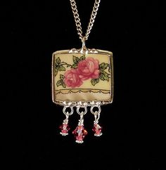 amaz jewelri, broken china jewelry, china jewelri, china pendant, jewelri trend, women jewelri