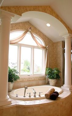 Garden Tub Bathroom Ideas dreamy tubs and showers hgtv Find This Pin And More On Bathroom I Want A Garden Tub