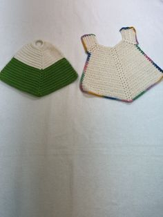 Vintage Crochet, Vintage Green, Jewelry Supplies, Vintage Kitchen, Pot Holders, Belts, I Shop, Handmade Jewelry, Crochet Hats