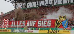 Rot Weiss Essen vs. Fortuna Düsseldorf: RWE macht F95 ordentlich Dampf und verliert - turus.net Magazin