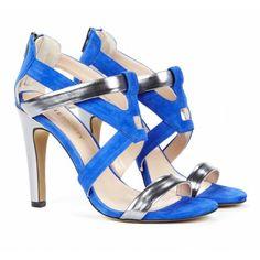 Sole Society - Colorblock heels - Dallas - Black Cuban Sand