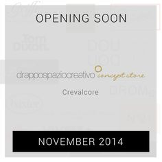 Opening soon drappospaziocreativo concept store, Crevalcore!