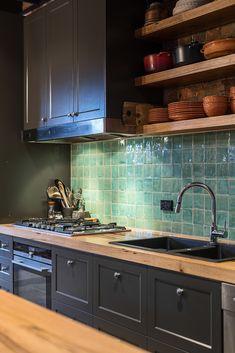 banking modelleri Farmhouse Kitchen Shelves Benches 47 Ideas For 2019 Kitchen Room Design, Home Decor Kitchen, Interior Design Kitchen, Home Kitchens, New Kitchen, Kitchen Island, Timber Kitchen, Kitchen Benches, Kitchen Shelves
