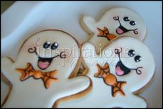 Cute Ghost   By Inspirations by Urbano   http://www.inspirationsbyurbano.com