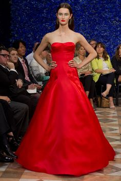 Christian Dior Fall 2012 Couture Fashion Show - Mackenzie Drazan