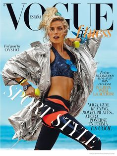 retro sports fashion - Summer is going out with a bang this year and to celebrate, women might want to embrace some retro sports fashion as seen in the latest issue of Vo...