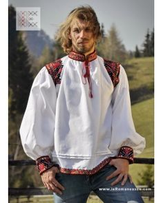 camasa barbateasca din Oas Traditional Romanian shirt from  Oas