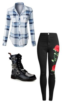 """""""#66"""" by cecilie-monica-nrskov-pedersen on Polyvore featuring LE3NO and Demonia"""