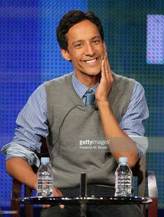 Actor Danny Pudi speaks during the 'Community' panel during the NBC Universal portion of the 2011 Winter TCA press tour held at the Langham Hotel on January 13, 2011 in Pasadena, California.