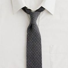 love this pindot tie
