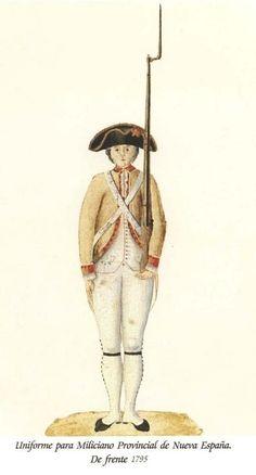 Milicia Provincial de Nueva España 1795 (2)