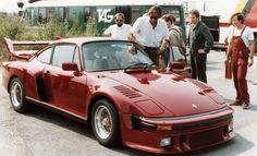 The sharpest Flatnose 911: Mansour Ojjeh's unique Porsche '935 Street' | Classic Driver Magazine