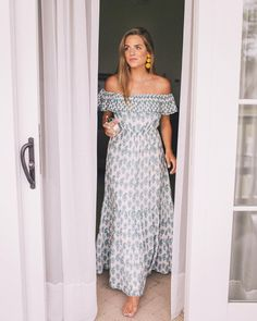 maxi dress for wedding events
