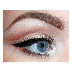 HOW TO MAKING EYES LOOK BIGGER ❤ liked on Polyvore