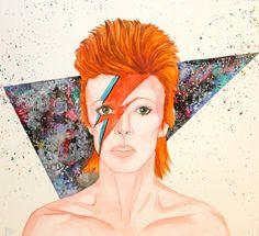 Ziggy Stardust - David Bowie por chloiscondie