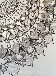 My Sketchbook : Mandalas (9 Pages) @ kitskorner.com