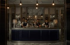 Connaught Bar London Mayfair. Voted number 11 best bar in the world