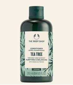 Body Shop At Home, The Body Shop, Vegan Shopping, Oily Hair, Vegan Beauty, Hair Repair, Tea Tree, Conditioner, Personal Care