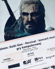 Już jutro. <3   #witcher #thewitcher #percival #wild #hunt #witcher3 #music #ticket #steelbook #game #games #gamer #whitewolf #gwynbleidd