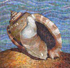 Мозаичное панно Ракушка