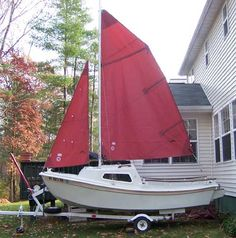 West Wight Potter 15 sailboat for sale Boating Holidays, Sailboats For Sale, Sail Boats, Sailing Boat, Sail Away, Power Boats, Tall Ships, Boat Building, Fishing Boats