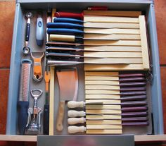 How To Make a Custom Knife Tray Out of Wood & Glue — Reader Tips