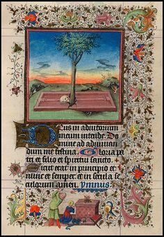 The Hours of Catherine of Cleves, in Latin. Illuminated by the Master of Catherine of Cleves.  The Netherlands, Utrecht, ca. 1440