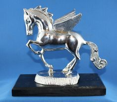 Art Deco Pegasus Flying Horse Hood Ornament