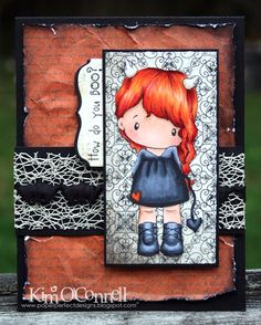 Paper Perfect Designs by Kim O'Connell: C.C. Designs Swiss Pixie Devilish Lucy