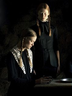 moldavia:    Ilva Heitmann and Erin Axtell in Flair September 2011 by Bruno Dayan