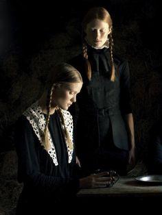 Ilva Heitmann and Erin Axtell in Flair September 2011 by Bruno Dayan