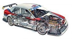 Alfa Romeo cutaways - Alfa 155 V6