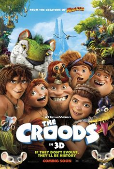 Are #TheCroods crude enough to earn them box office glory? Find out #GoodBadMovies
