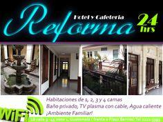 HOTEL Y CAFETERIA REFORMA GUATEMALA