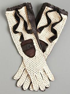 Marni Long Crochet Gloves