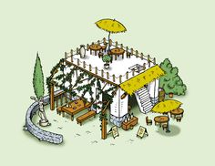 One of our #taverns from the game #travians at http://www.travians.com