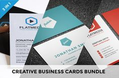 Creative business cards bundle 7 business cards and card templates creative business cards bundle reheart Choice Image