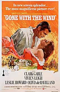 Posteritati: GONE WITH THE WIND R1974 U.S. 1 sheet (27x41)